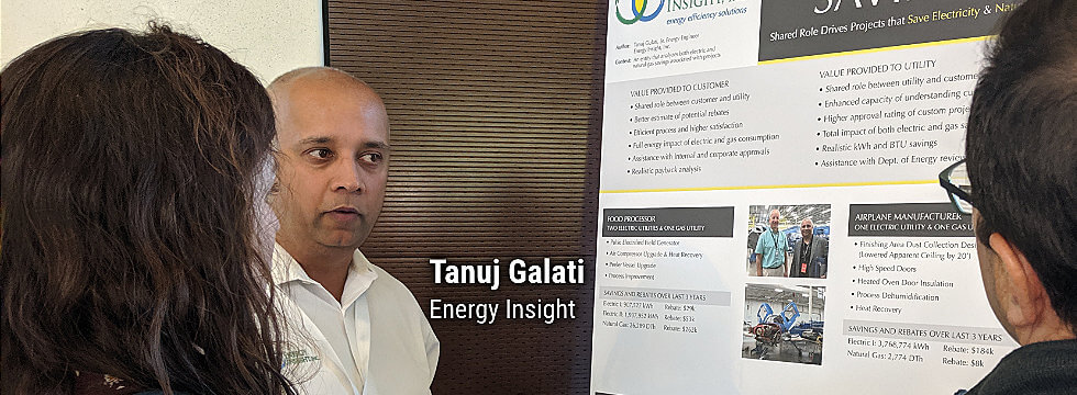 Tanuj Galati, Energy Insight