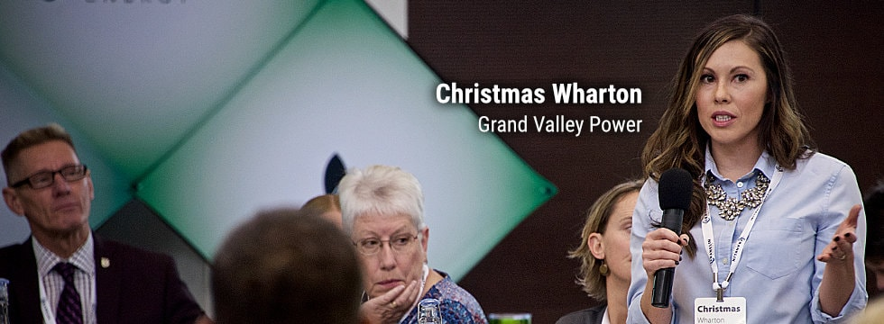 Christmas Wharton, Grand Valley Power