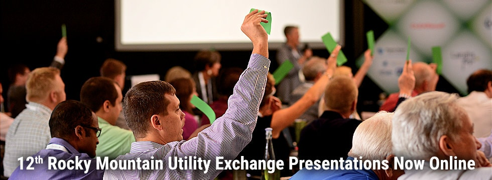12th Rocky Mountain Utility Exchange presentations now online